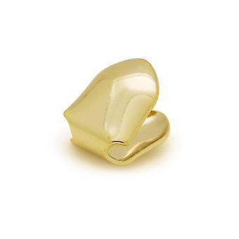 Hip Hop Gold Teeth Grillz Set Top Bottom Tooth, Dental Grills Mond Punk,