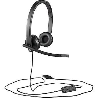FengChun H570e Kopfhörer mit Mikrofon, Stereo-Headset, Rauschunterdrückung, Lautstärkeregelung und