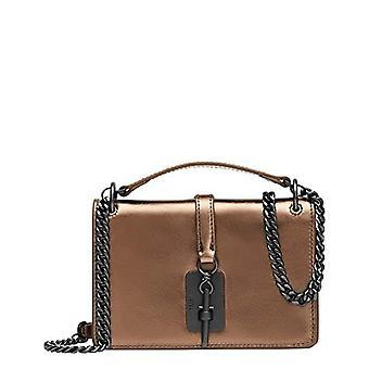 Liebeskind Berlin Meryl Crossbody, Women's Folder Bag, Metallic Copper 7735, X-Small