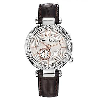 Saint Honore Women's Quartz Analog Watch with Leather Strap 7620211AFDR