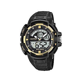 Calypso Watches Analog-Digital Watch Unisex Adult Quartz with Plastic Strap K5767/4