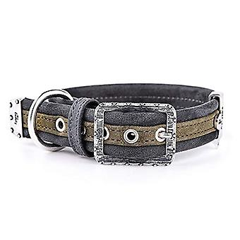 My Family Adjustable Collar in Leather-Like Made in Italy London Collection(8)