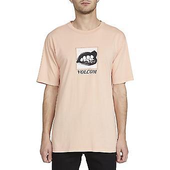 Volcom Reacher Lyhythihainen T-paita riutta vaaleanpunainen