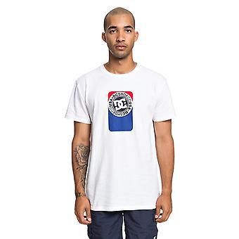 DC Petrol Short Sleeve T-Shirt in Snow White