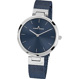 جاك ليمانز ساعة اليد المرأة ميلانو كلاسيك 1-2110G