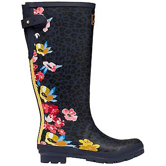Joules Femmes Welly Print Tall Height Wellington Bottes