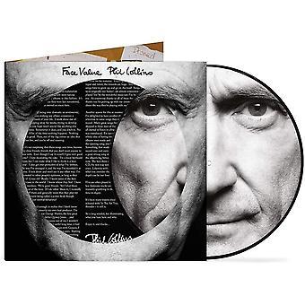 Phil Collins - Ansiktsvärde Bildskiva Vinyl