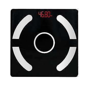 Gerui Body Fat Scale Bluetooth BMI Scales bathroom(Black)