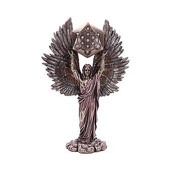 Estatuilla de bronce del ángel de Metatrón
