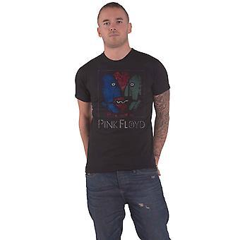 Vaaleanpunainen Floyd T Paita LiituPäät Band Logo uusi Virallinen Miesten Musta