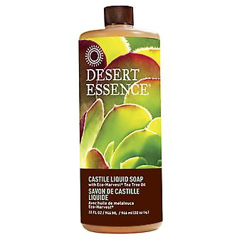 Desert Essence Castile Liquid Soap, Tea Tree, 32 oz