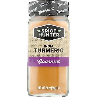 Spice Hunter Tumeric Grnd India, tapaus 6 X 2 Oz