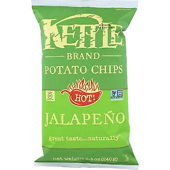 Kettle Foods Chip Pto Jalapeno, Case of 12 X 8.5 Oz
