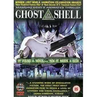 Ghost in the Shell DVD (2000) Mamoru Oshii cert 15 Região 2