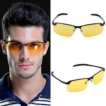 Unisex High-End Nachtsicht Polarisierte Brille Fahrbrille