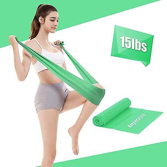Yoga Elastic Band Fitness Women And Men Tension Band Strength Training Hip(Green)