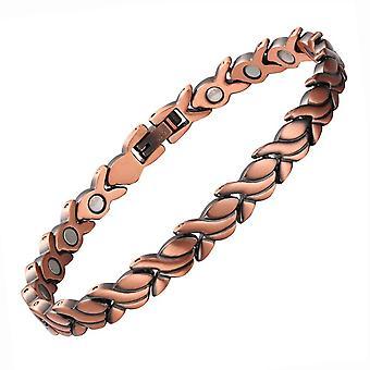 99.95% Copper Bracelets Creative Bracelet Magnetic Bangle Lady Jewelry