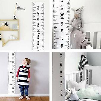 خشبية الاطفال نمو ارتفاع الرسم البياني حاكم الأطفال الجدار شنقا قياس الديكور
