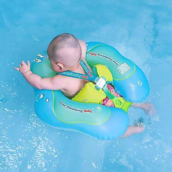 Natation gratuite Bébé gonflable Baby Swim Float Enfants Taille Anneau gonflable Piscine Flotteurs Jouets Accessoires de piscine pour l'âge de 3-72 mois - S