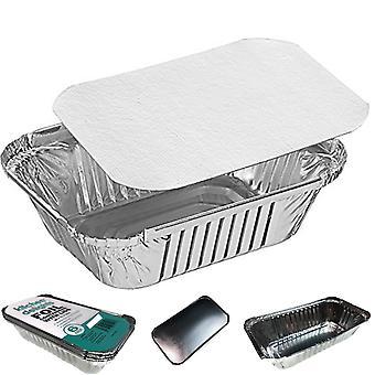 144X aluminium foil baking trays containers