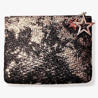 Mac sparkly pose med stjerne-accent lynlås