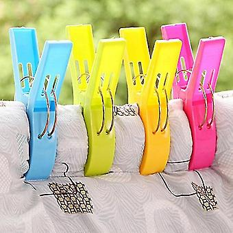 Large Bright Color Clothespin Plastic Beach Towel Hanging Clothespin
