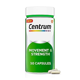 Centrum movement and strength joint supplement, capsules, 50 ea