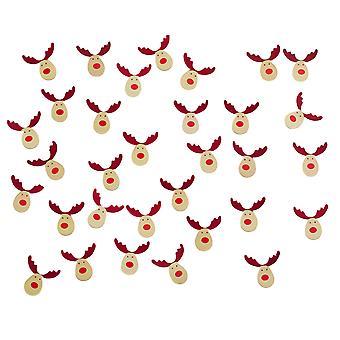 Schommelende Rudolf - Confetti