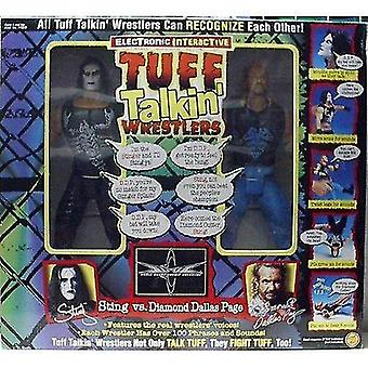 Video game consoles electronic interactive wcw tuff talkin wrestlers sting vs diamond dallas page