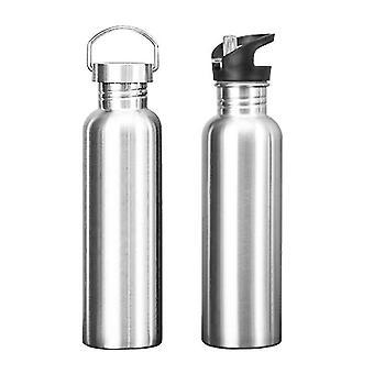 Multifunktionale Sportwasserflasche aus Edelstahl (750ml)