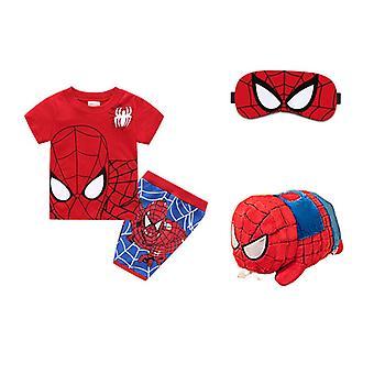 Marvel Boys Spiderman Pyjamas Kinder /Spiderman Kostüm/Pyjama Set/Kind Kinder Jungen/Casual Home Set