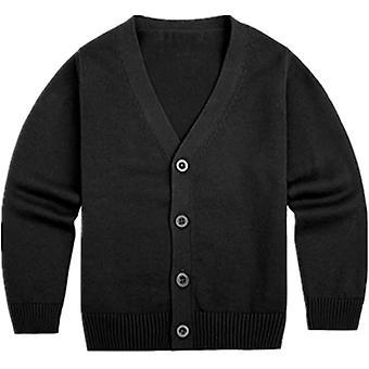 Mimigo little boys Cardigan Pullover Knöpfe Unten V-Ausschnitt Baumwolle Frühling Herbst Kinder Kleidung Mantel