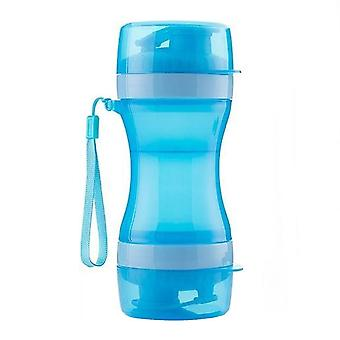 Portable Water Bottle And Food Bowl For Dog