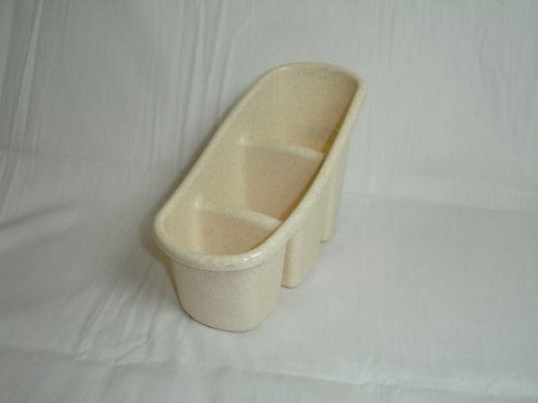 Studio Cutlery Stand Plastic Oatmeal Home Kitchen Cutlery Storage Drainage