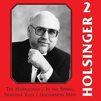 David R. Holsinger - The Symphonic Wind Music of David R. Holsinger, Vol. 2 [CD] USA import