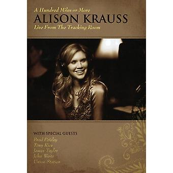 Alison Krauss - Hundred Miles ou plus : importation USA vivent la traçabilité [DVD]