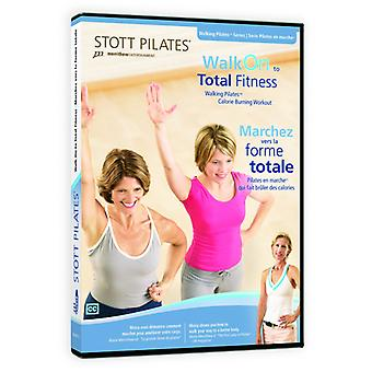 Walk on to Total Fitness (Eng/Fre) [DVD] USA import
