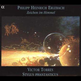 P. Erlebach - フィリップ ・ ハインリヒ ・ Erlebach: 描画 Im Himmel [CD] USA 輸入