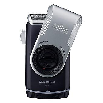 Braun Mobile Shaver med Precision Trimmer (M-90)