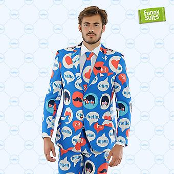 Britain Brits Carlton suit England UK 3-piece costume deluxe EU SIZES