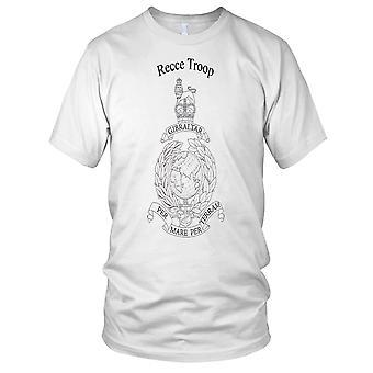 Royal Marines Recce tropp damer T skjorte