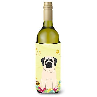 Easter Eggs Mastiff White Wine Bottle Beverge Insulator Hugger