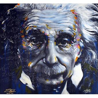 Albert Einstein - Stephen Fishwick affisch affisch Skriv