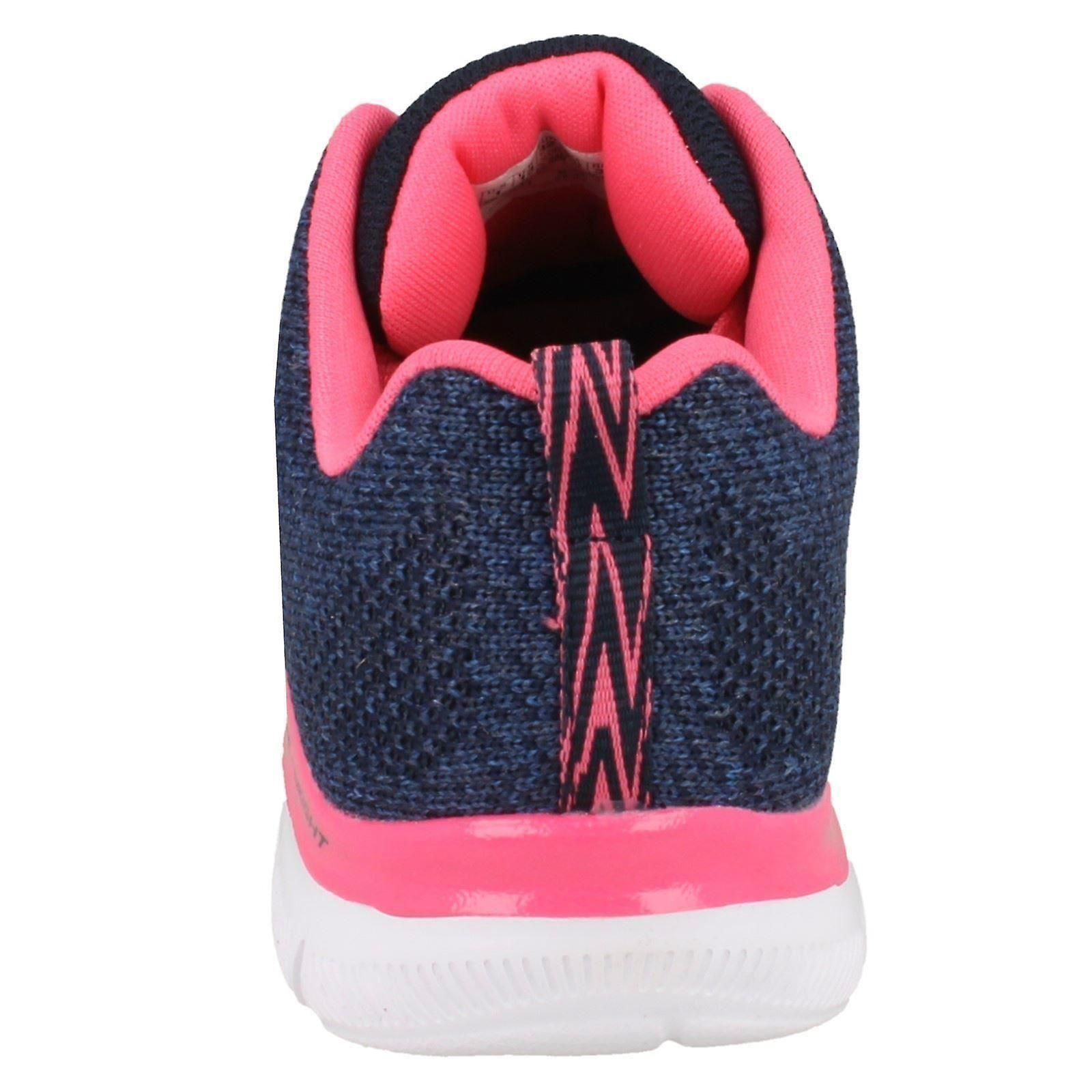 Girls Skechers Skech Knit Trainers High Energy 81655