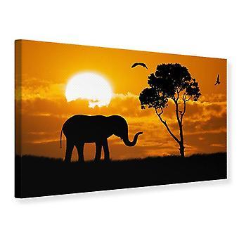 Canvas tulostaa unenomainen Afrikka