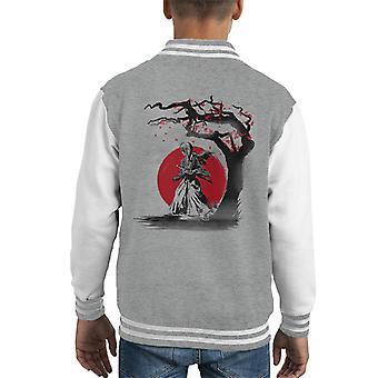 Rurouni Kenshin Wandering Samurai Kid's Varsity Jacket