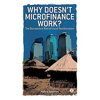 Why Doesnt Microfinance Work by Milford Bateman