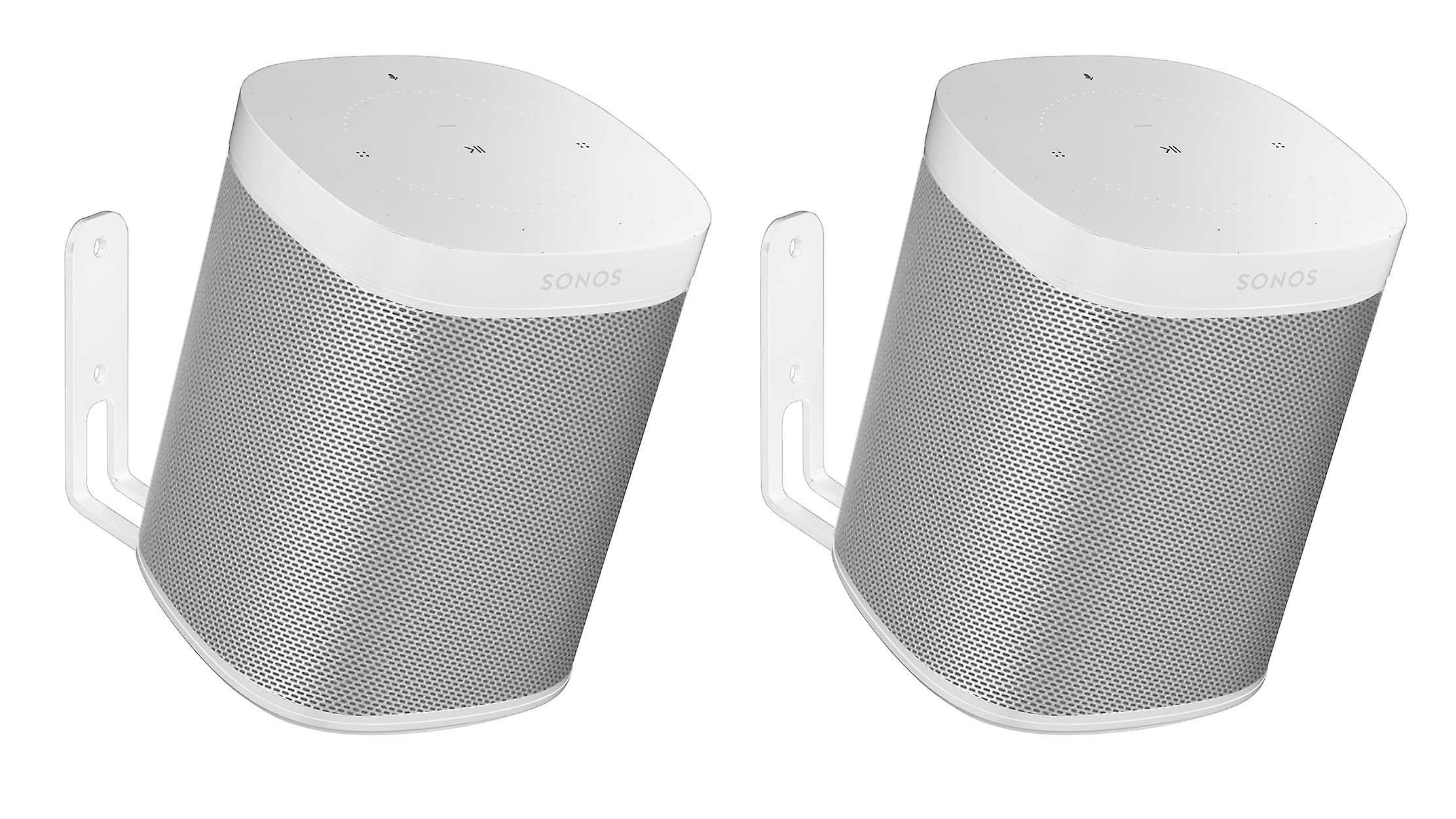 Vebos wall mount Sonos One white 20 degrees set