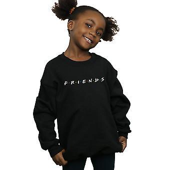 Friends Girls Text Logo Sweatshirt
