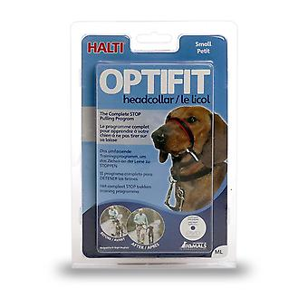 HALTI Dog OptiFit Headcollar, Small 30-39cm